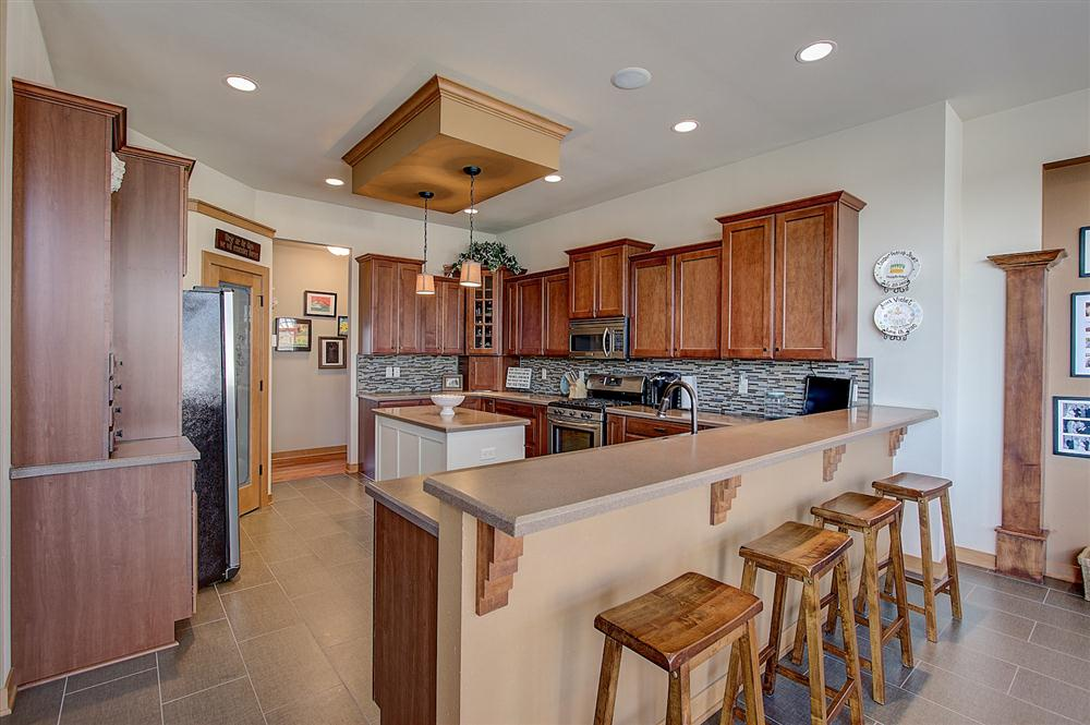 Remodeled Kitchen by Jewell Homes